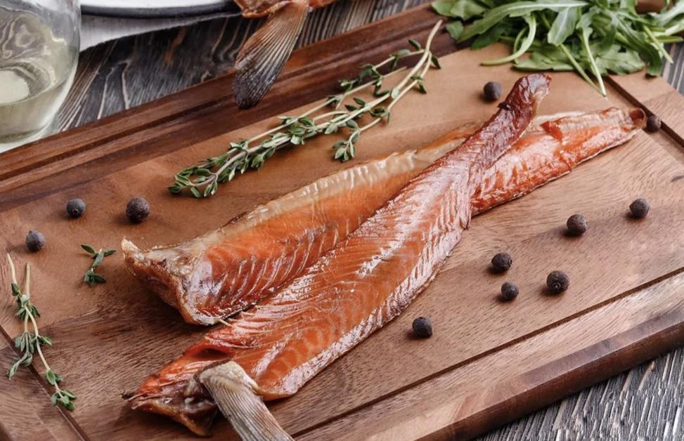 Вяленая красная рыба